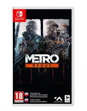 Gra Nintendo Switch Metro Redux + Skrzynka Strażnika!