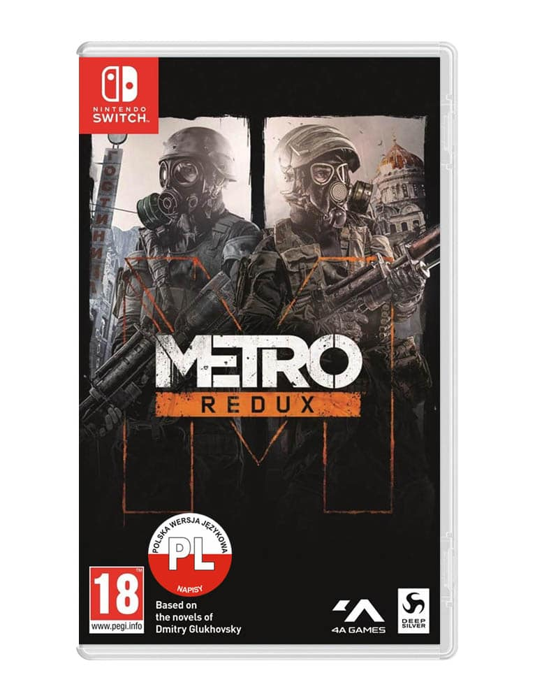 Metro Redux Gra Nintendo Switch Angielska