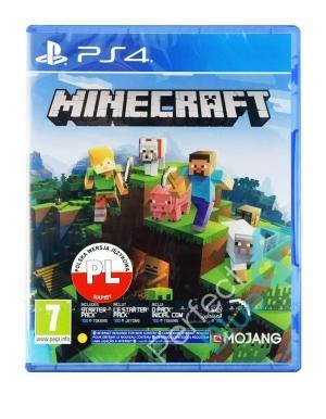 Gra PS4 Minecraft / Edycja Bedrock PL