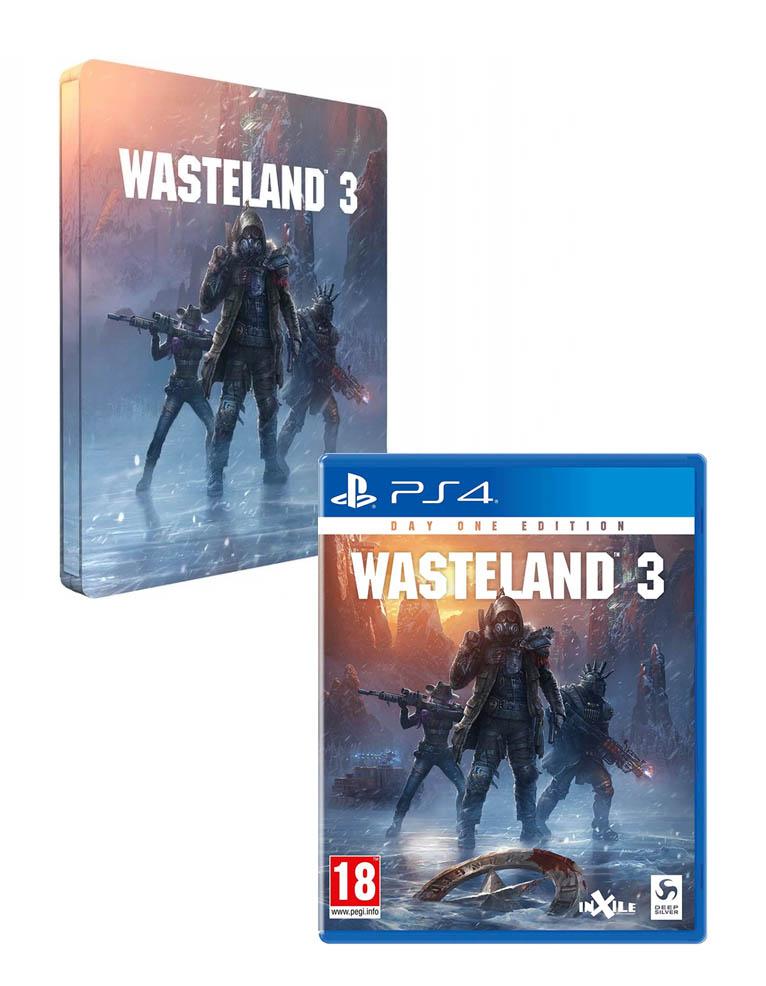 Gra PS4 Wasteland 3 + Steelbook!