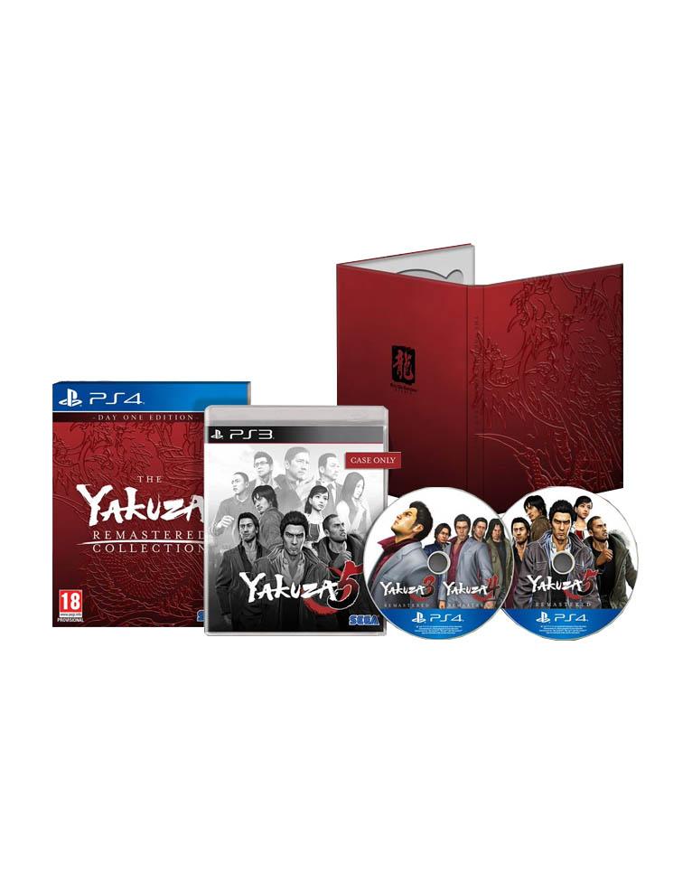 Gra PS4 Yakuza Remastered Collection