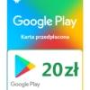 Kod / Doładowanie Android Google Play 20 zł / wysyłka na email / Automat 24h
