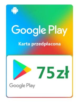Kod / Doładowanie Android Google Play 75 zł / wysyłka na email / Automat 24h