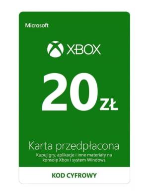 Kod / Klucz / Doładowanie Xbox & Windows 20 zł / wysyłka na email / Automat 24h