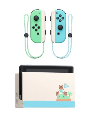 Konsola Nintendo Switch - Limitowana Edycja + gra Animal Crossing: New Horizons / Nowy Model