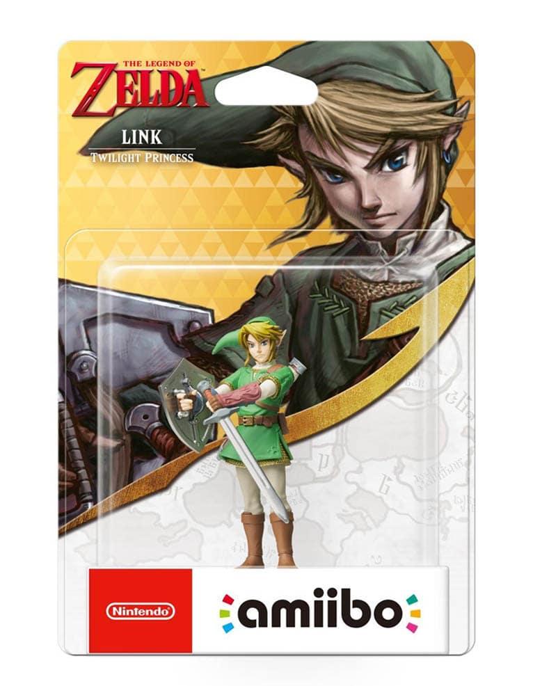 Figurka Amiibo - The Legend of Zelda - Link Twilight Princess