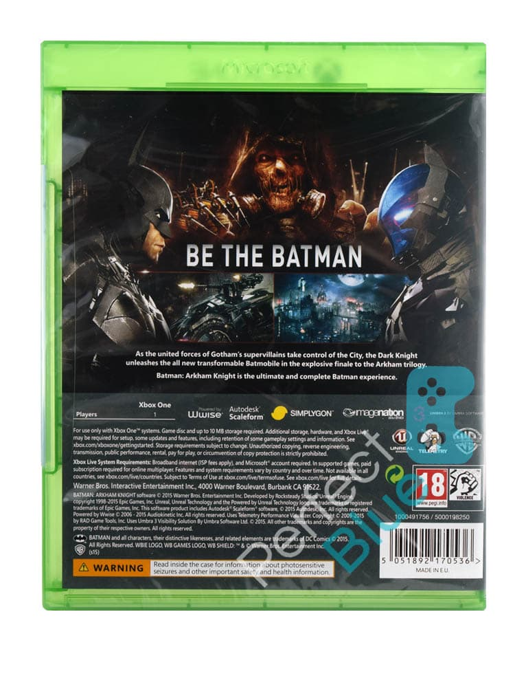 Gra Xbox One Batman Arkham Knight