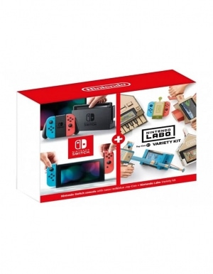 Konsola Nintendo Switch Neon Red-Blue - Limitowana Edycja + Labo Variety Kit