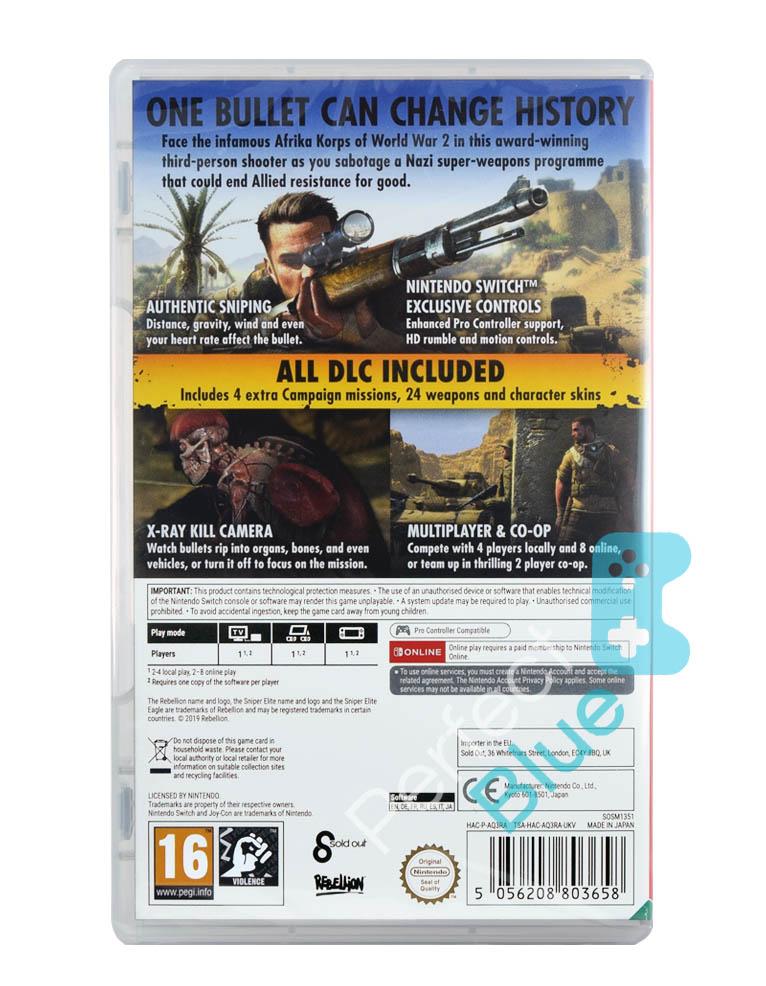 Gra Nintendo Switch Sniper Elite III Ultimate Edition