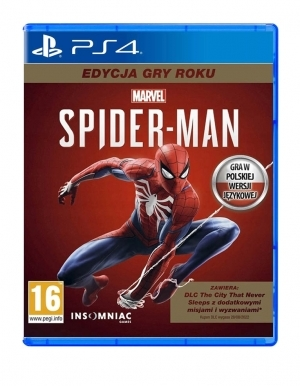 Gra PS4 Marvel's Spider-Man Game Of The Year PL