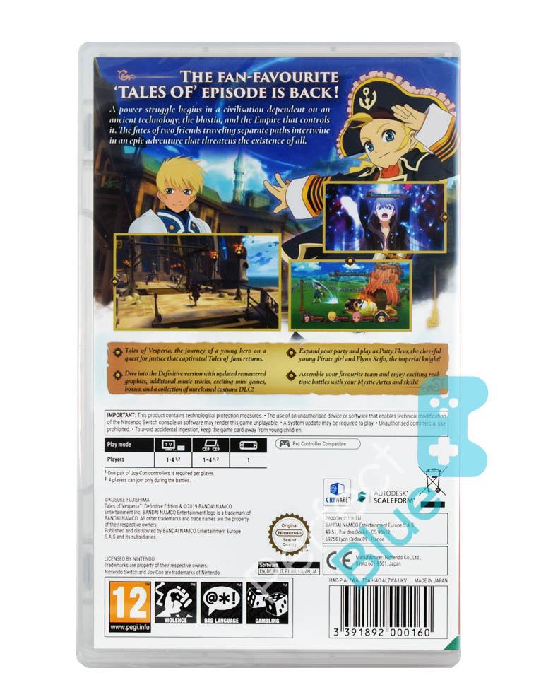 Gra Nintendo Switch Tales of Vesperia: Definitive Edition