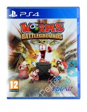 Gra PS4 Worms Battlegrounds