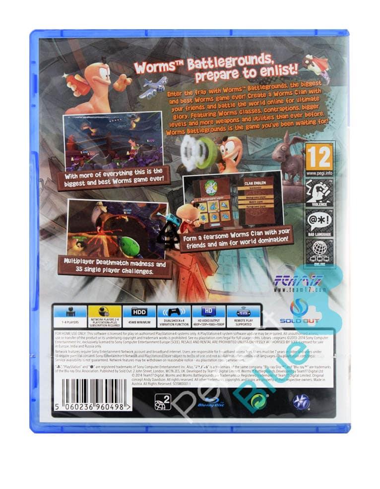 Gra PS4 Worms Battlegrounds