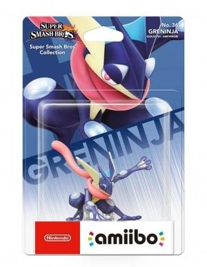 Figurka Amiibo - Super Smash Bros. Collection - Greninja No. 36