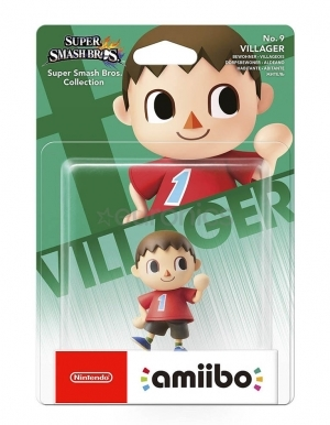 Figurka Amiibo - Super Smash Bros. Collection - Villager No. 9
