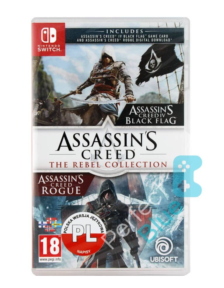 Gra Nintendo Switch Assassin's Creed: The Rebel Collection PL