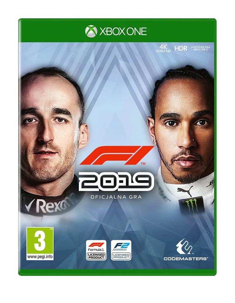 Gra Xbox One F1 2019 / PL