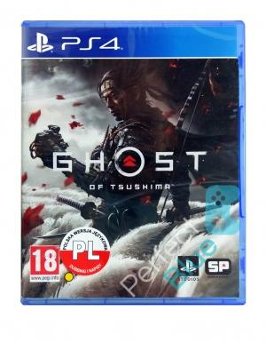 ghost of tsushima gra ps4 rozne jezyki przod logo
