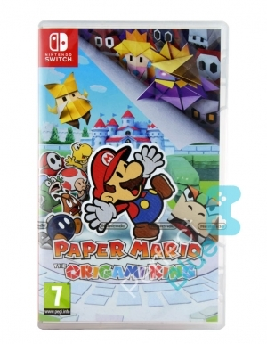 Gra Nintendo Switch Paper Mario the Origami King + 3 Gratisy