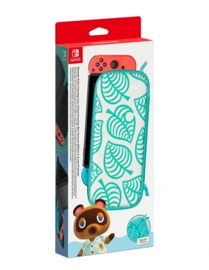 Oficjalne Etui (pokrowiec) Animal Crossing oraz folia na ekran Nintendo Switch