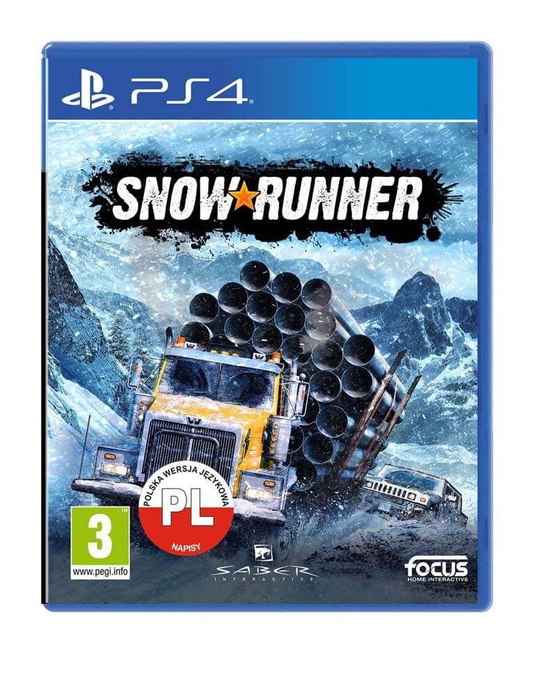 Snow Runner Gra Ps4 Pl