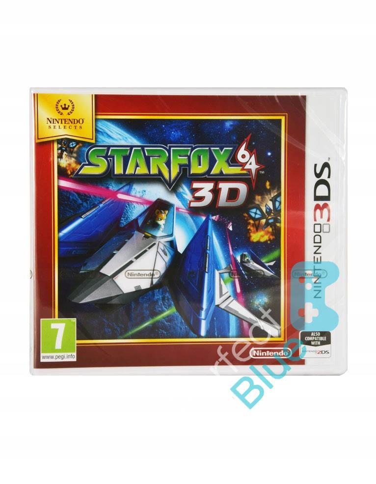 Gra Nintendo 3DS / 2DS Star Fox 64 3D