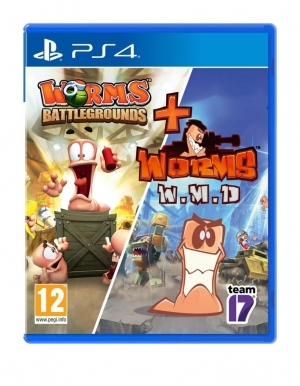 Gra PS4 Worms Battlegrounds + Worms Weapons Of Mass Destruction