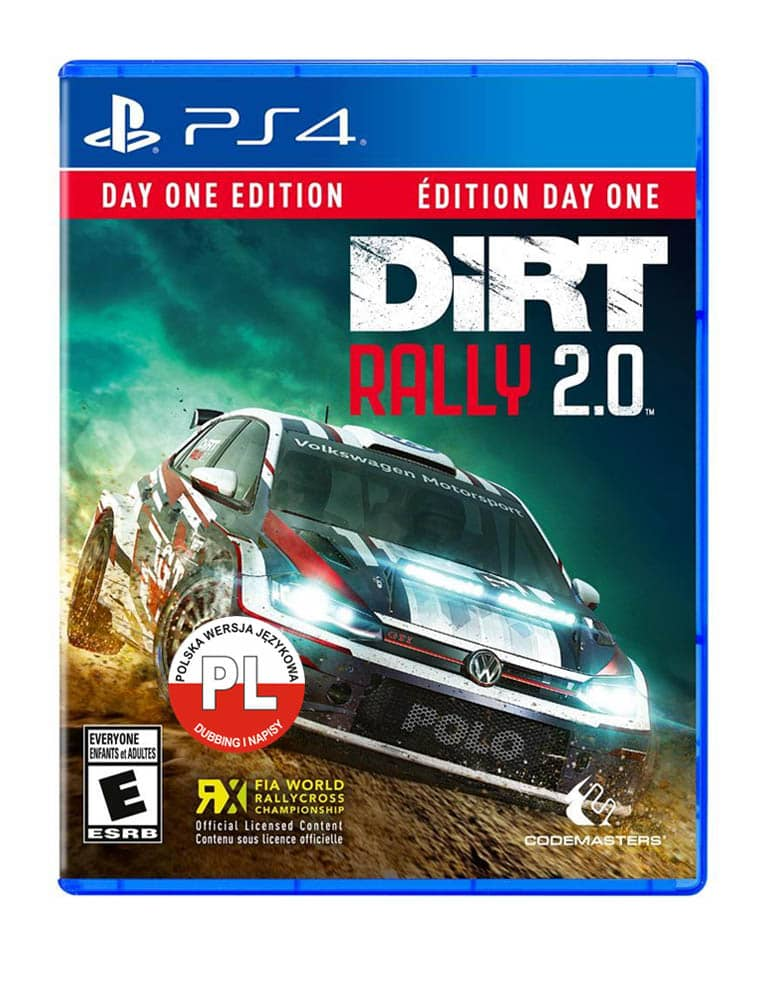 dirt rally 2 0 day one edition gra ps4 region usa pl