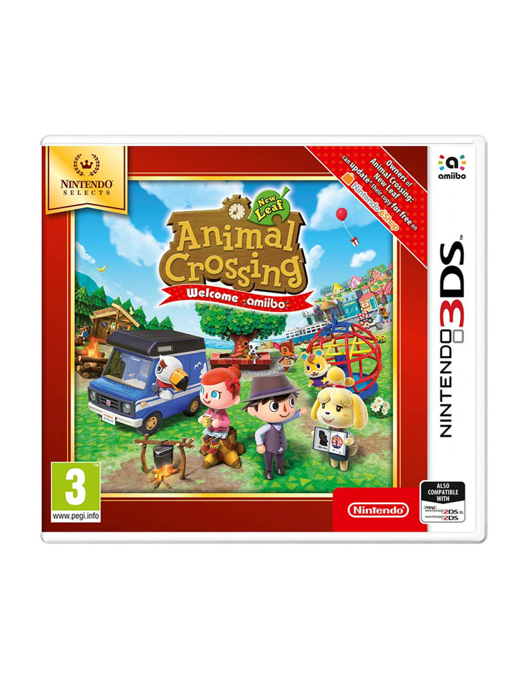 Gra 3DS 2DS Animal Crossing: New Leaf - Welcome Amiibo
