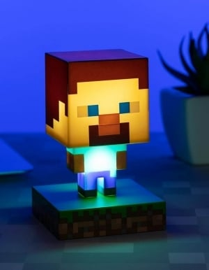 Gadżet Lampka Minecraft Steve #001
