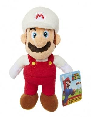 Gadżet Pluszowa Maskotka Nintendo Super Mario – Fire Mario – 20cm