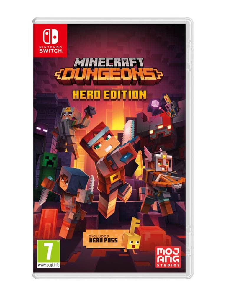 minecraft dungeons gra nintendo switch 2