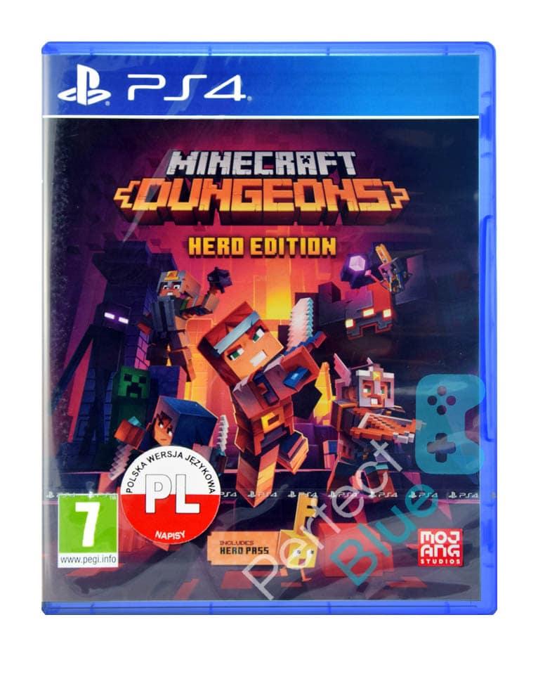 Gra PS4 Minecraft Dungeon Hero Edition + Hero Pass