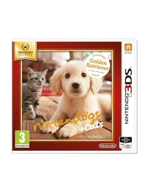 Gra Nintendo 3DS / 2DS Nintendogs + Cats: Golden Retriever & New Friends