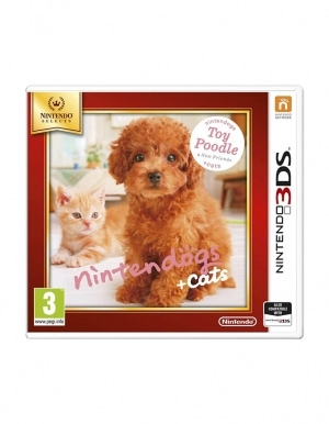 Gra Nintendo 3DS / 2DS Nintendogs + Cats: Toy Poodle & New Friends