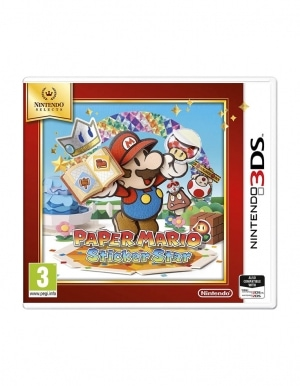 Gra Nintendo 3DS / 2DS Paper Mario: Sticker Star