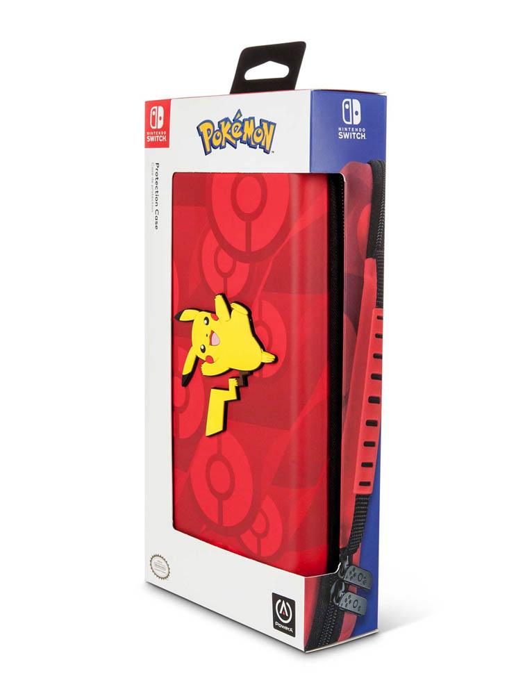 PowerA Etui / Pokrowiec - Pokemon Pikachu - Czerwony