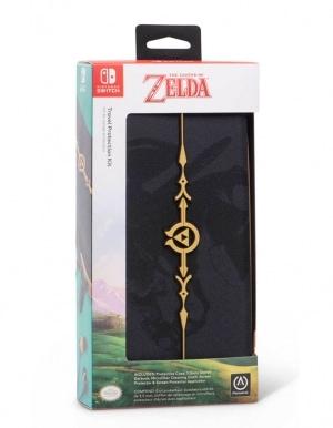 PowerA / Zestaw Startowy Pokrowiec, Słuchawki oraz Folia Ochronna - The Legend of Zelda