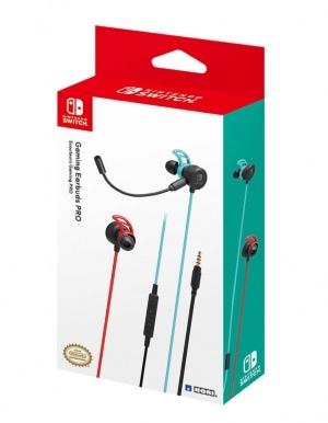 HORI Słuchawki Douszne z Mikrofonem / Nintendo Switch