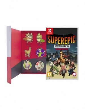 Gra Nintendo Switch SuperEpic The Entertainment War Badge Edition