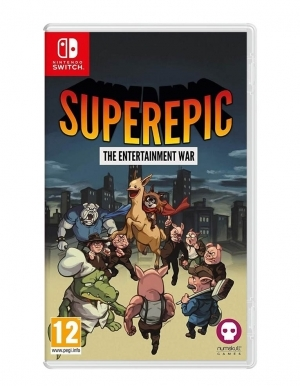 Gra Nintendo Switch SuperEpic The Entertainment War