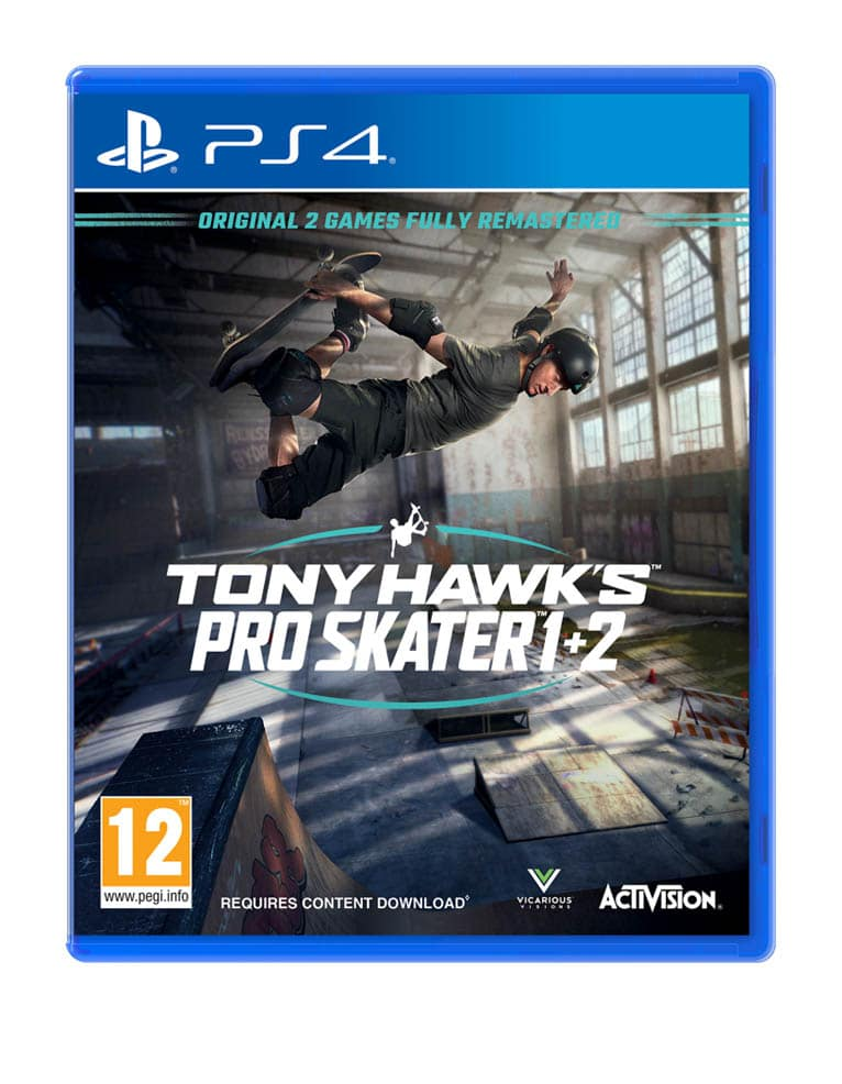 Tony Hawk's Pro Skater 1 2 Gra Ps4
