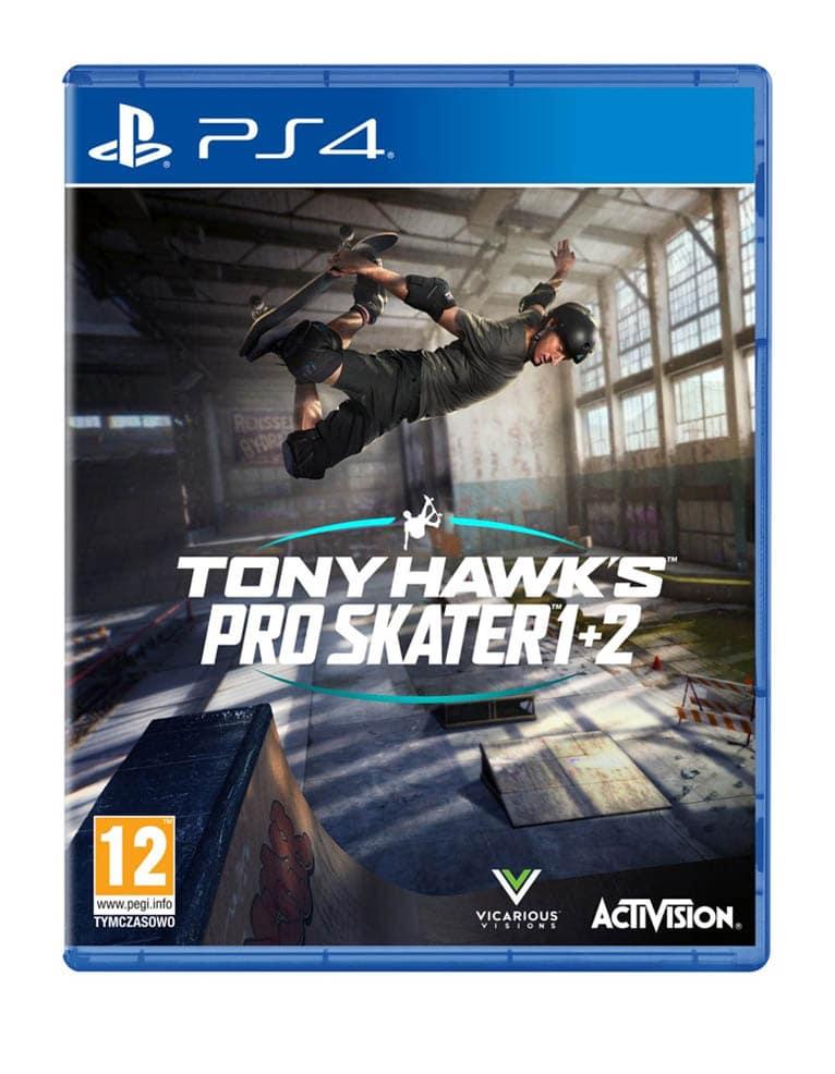 Gra PS4 Tony Hawk's Pro Skater 1 + 2