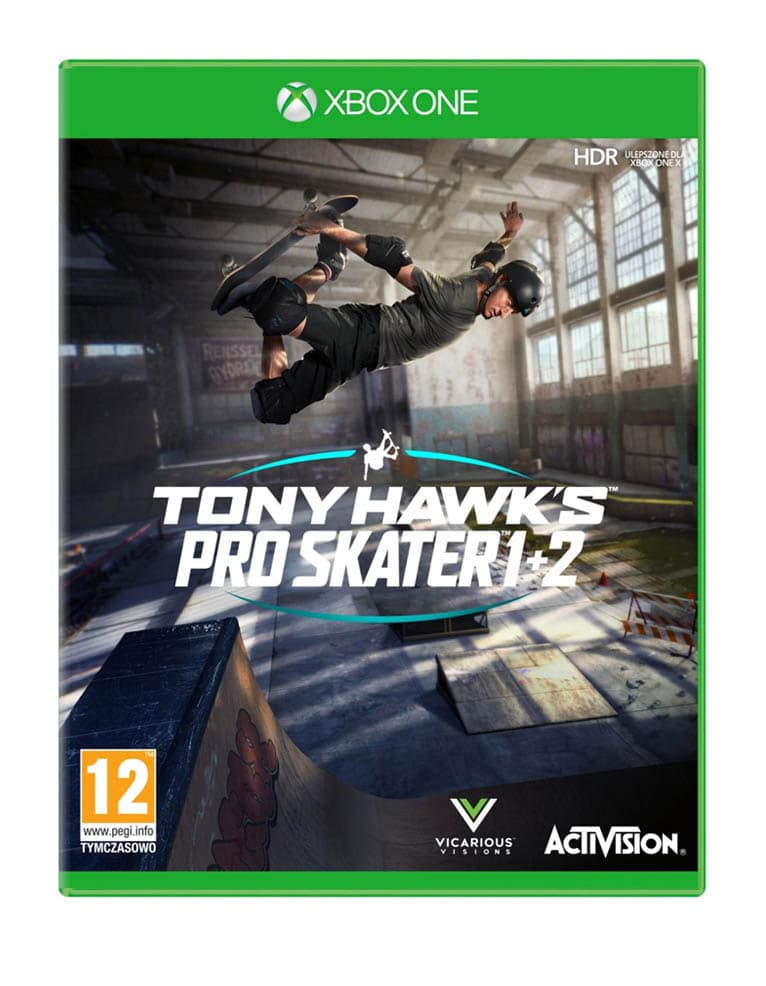Gra Xbox One Tony Hawk's Pro Skater 1 + 2