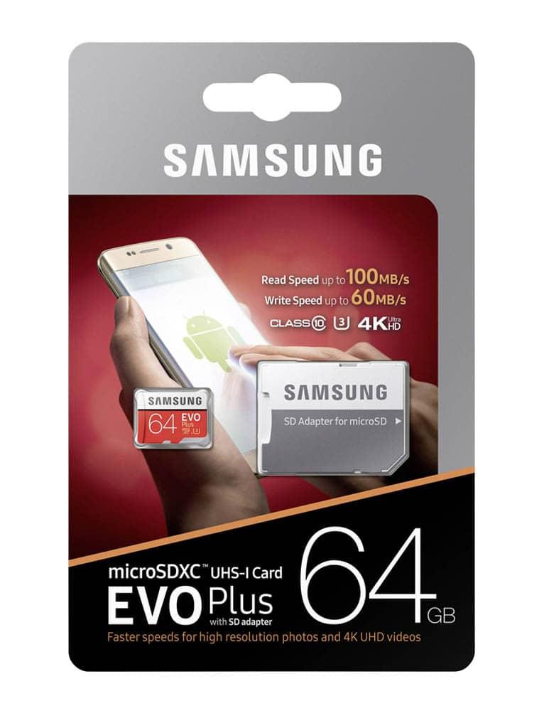 Karta Pamięci do Nintendo Switch / Samsung Evo+ SDXC / 64GB