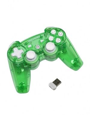 PDP Pad Kontroler PS3 Bezprzewodowy - Aqualime - Rock Candy