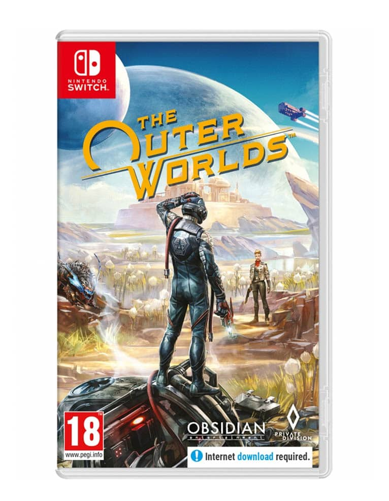 Gra Nintendo Switch The Outer Worlds