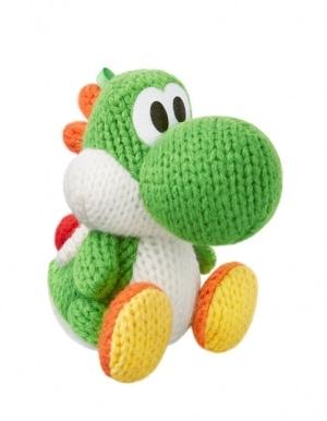 Figurka Amiibo - Yoshi's Woolly World - Green Yarn Yoshi / Zielony