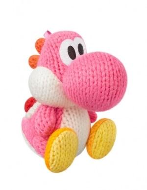 Figurka Amiibo - Yoshi's Woolly World - Pink Yarn Yoshi / Różowy