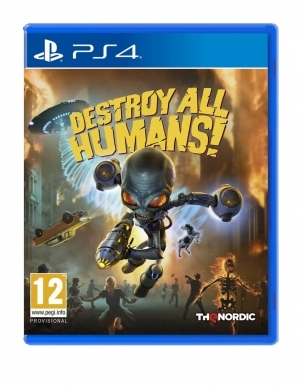 Gra PS4 Destroy All Humans!